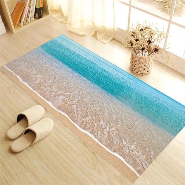 thảm trải sàn hoạt tiết sóng biển