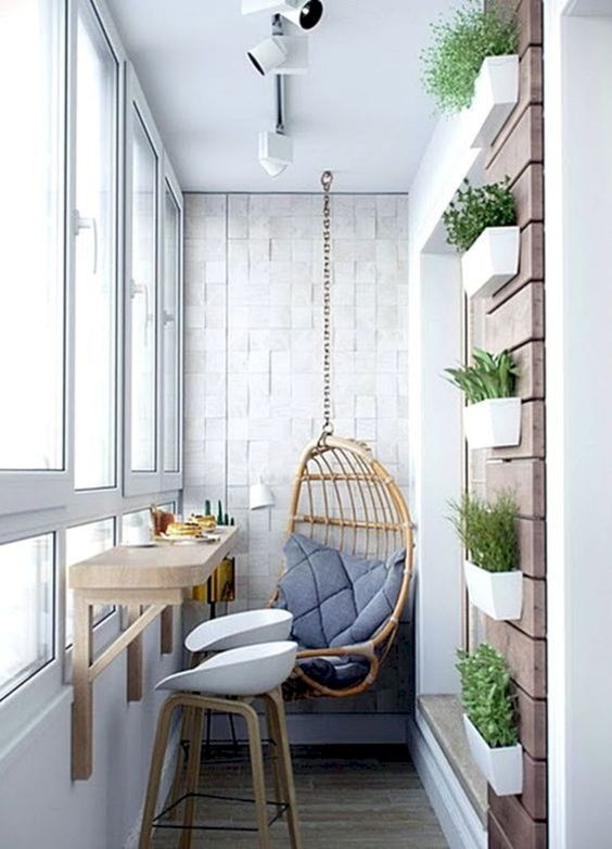 thiết kế ban công chung cư đẹp 4