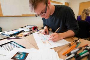 học nghề buổi tối nghề thiết kế nội thất