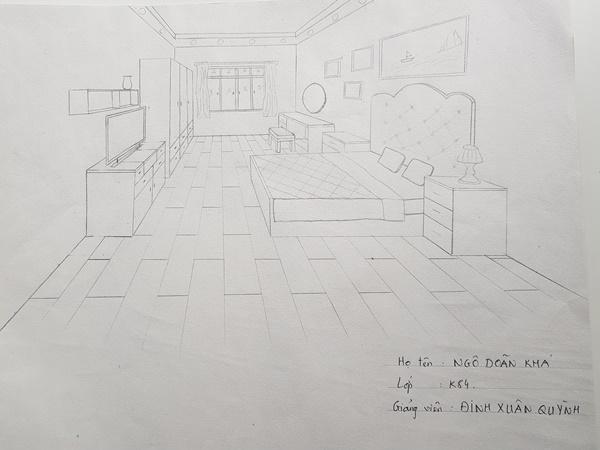 không giỏi vẽ tay có nên học thiết kế nội thất