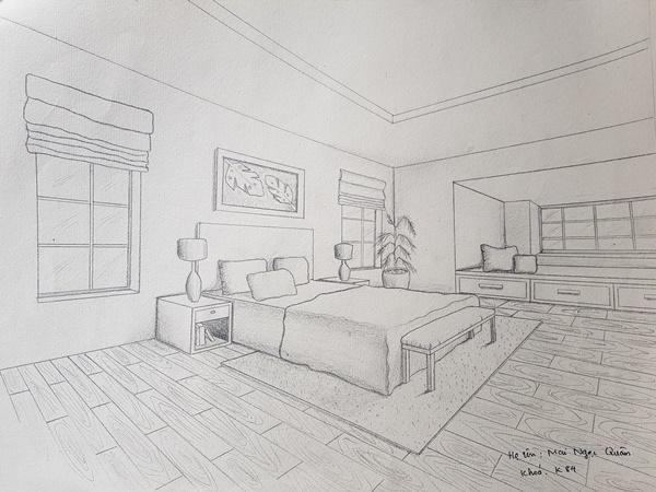 không có năng khiếu vẽ tay có nên học thiết kế nội thất quân