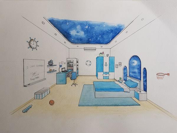 học thiết kế nội thất có cần có năng khiếu vẽ tay giỏi