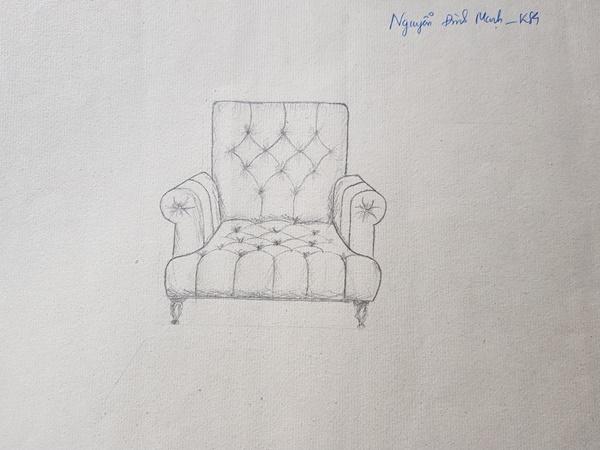 học thiết kế nội thất có cần giỏi vẽ tay mạnh