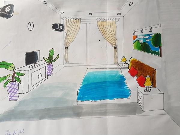 học thiết kế nội thất có cần giỏi vẽ tay anh
