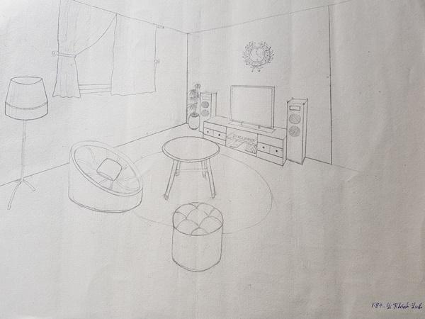 học thiết kế nội thất có cần giỏi vẽ tay linh k84