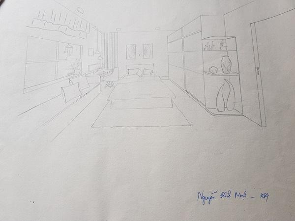học thiết kế nội thất có cần giỏi vẽ tay không awe
