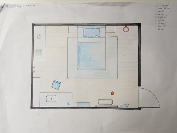 học thiết kế nội thất có cần giỏi vẽ tay trang awe
