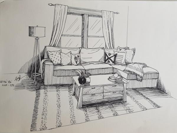 không có năng khiếu vẽ tay có học được thiết kế nội thất không