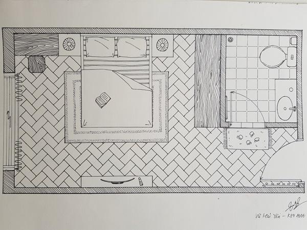 không có năng khiếu vẽ tay có làm được thiết kế nội thất