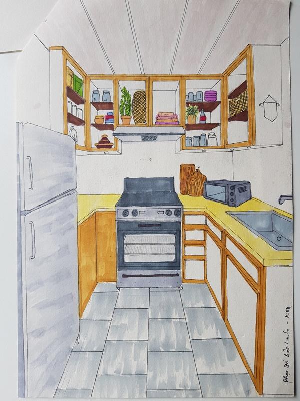 không có năng khiếu vẽ tay có nên học thiết kế nội thất không