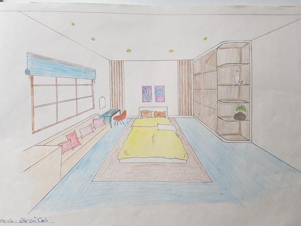 không có năng khiếu vẽ tay vẫn học thiết kế nội thất giỏi