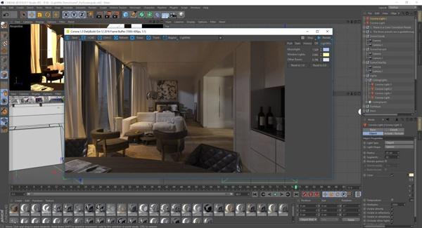 học thiết kế 3d nội thất