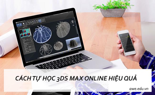 cách học 3d max online hiệu quả