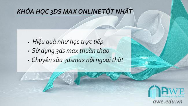 khóa học 3d max online tốt nhất