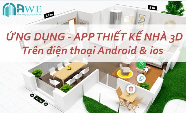 ứng dụng thiết kế nhà