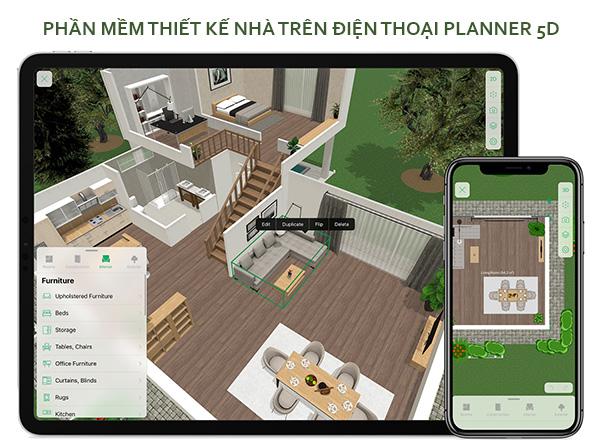 ứng dụng planner 5d